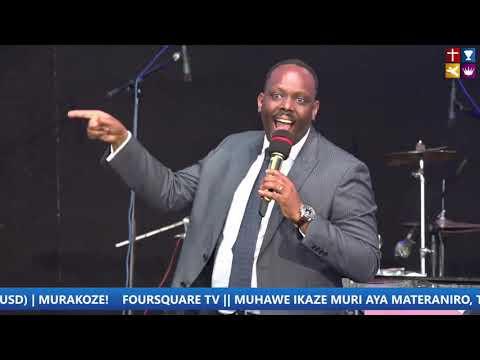 FOURSQUARE TV  ''Sunday Second Service '' With Bishop Dr. Fidele MASENGO 28.03.2021.
