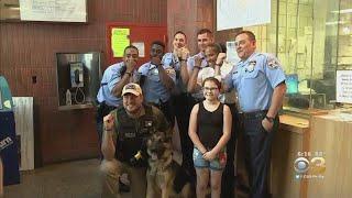 Lebanon County Girl Drops Off Special Bracelets For Philadelphia Police Officers