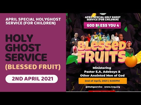 RCCG APRIL 2021 HOLY GHOST SERVICE - GOD BLESS YOU 4