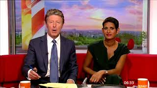 BBC breakfast : the wise owl that attacked the camera