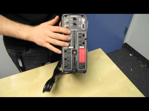 Cyberpower CP1000PFCLCD Pure Sine Wave UPS Unboxing & First Look Linus Tech Tips - UCXuqSBlHAE6Xw-yeJA0Tunw