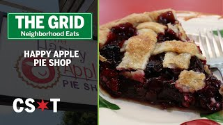 Happy Apple Pie Shop provides dessert, food for thought