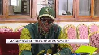 Gen. Elly Tumwine to seek judicial review over committee's assault report