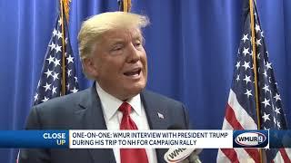Interview: Adam Sexton of WMUR-TV Manchester, NH Interviews Donald Trump - August 15, 2019