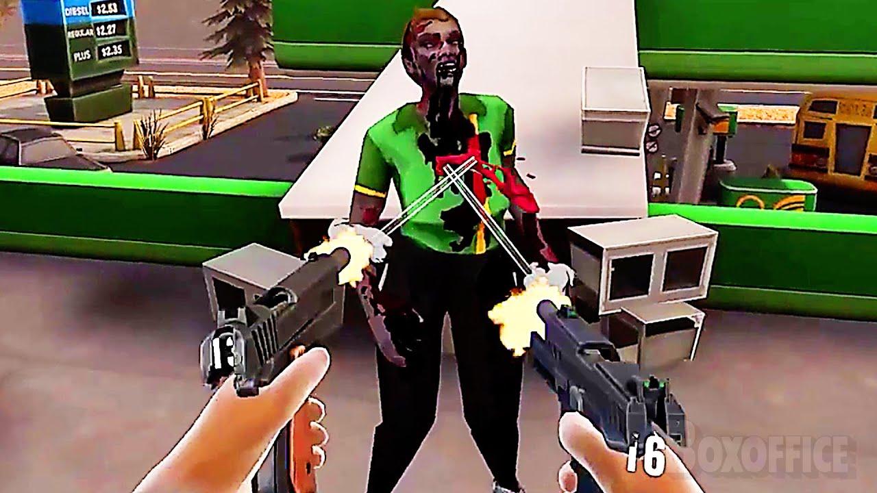 ZOMBIELAND : HEADSHOT FEVER Trailer (2021) Gameplay, VR Game