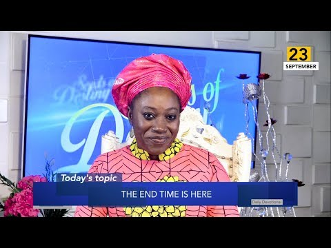 Dr Becky Paul-Enenche - SEEDS OF DESTINY  MONDAY 23RD SEPTEMBER, 2019