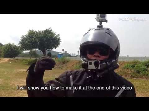 GOPRO Gimbal Stabilizer on Helmet for Motorcycle - UCGrIvupoLcFCW3CIKvfNfow