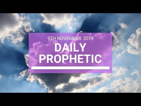Daily Prophetic 9 November Word 4