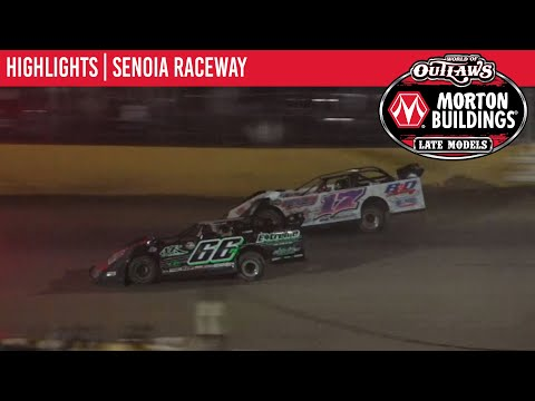 World of Outlaws Morton Building Late Models at Senoia Raceway October 2, 2021   HIGHLIGHTS - dirt track racing video image