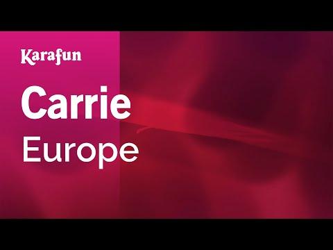 Karaoke Carrie - Europe * - UCbqcG1rdt9LMwOJN4PyGTKg
