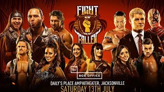 AEW Fight For The Fallen 2019 Review || Rhodes Brothers vs. Young Bucks || G1 Climax 29 Night 2