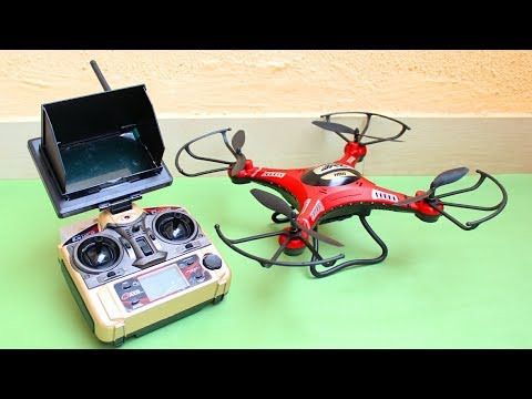 Amazing RC Quadcopter - FPV With Camera - UCg8gyknDT6PKomqpHPFYlog