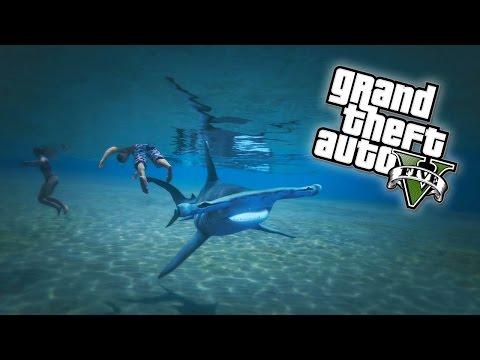 GTA 5 - PLAY AS A SHARK Easter Egg! (GTA V Next Gen) - UC2wKfjlioOCLP4xQMOWNcgg