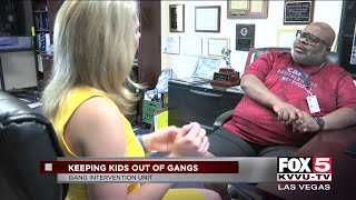 Gang intervention team in Las Vegas hopes to impact local kids