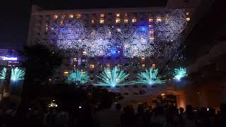 Projection mapping Takanawa Fireworks on Takanawa Natsu Matsuri 2019 [RAW VIDEO]