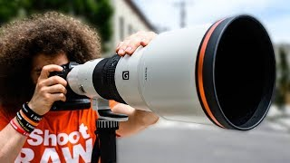 The MOST EXPENSIVE Sony LENS You Will NEVER OWN | Sony 600mm f4 Review
