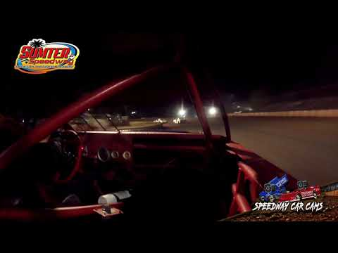 #99 Storm Hadwin - Mod 4 - 9-18-21 Sumter Speedway - In-Car Camera - dirt track racing video image