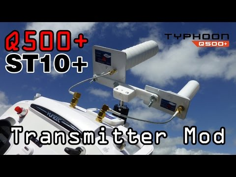 Yuneec St10+ Antenna Mod for Horizon Q500 Pilot end Kit Long Range - default
