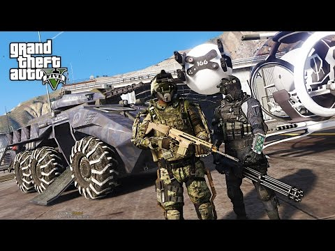 GTA 5 PLAY AS A COP MOD - FUTURISTIC ARMY POLICE FORCE!! SWAT Police Patrol! (GTA 5 Mods Gameplay) - UC2wKfjlioOCLP4xQMOWNcgg