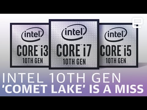 Intel's 10th-gen Comet Lake processors feel like a stopgap solution - UC-6OW5aJYBFM33zXQlBKPNA