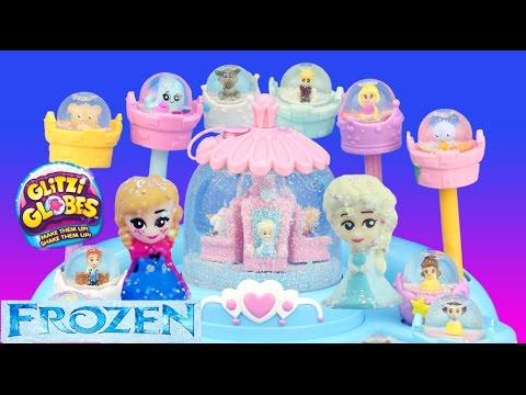 Frozen ELSA'S BALLROOM SNOW STORM GLITZI GLOBES Anna Olaf Cinderella Belle fun toys - UCHSi5wUHw5PhPUdcKqIWS_g