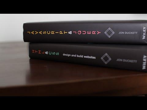 Books for Beginners, HTML and CSS, Javascript and Jquery by Jon Duckett - @kylejson - UCdeTfNk6dsjzFiMnqCUhVZQ
