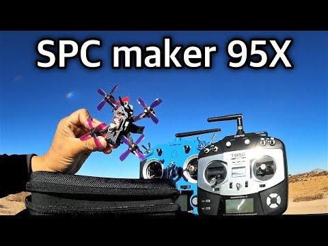 SPC MAKER SPC 95X  95mm Micro Brushless FPV Racing Drone - UC9l2p3EeqAQxO0e-NaZPCpA