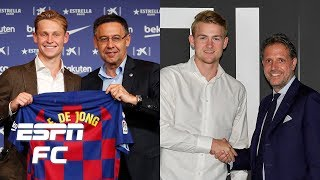 Frenkie de Jong vs. Matthijs de Ligt: Which player will prove to be a better signing?   Extra Time