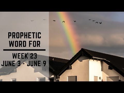 Weekly Word 3 June 2019