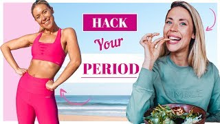 HACK YOUR PERIOD FOR WEIGHT LOSS 🍋 Diet and Workouts for your Cycle