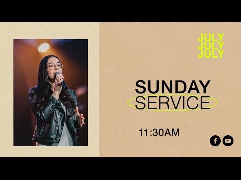 Sunday Service 11:30AM  Lizeth Gutierrez