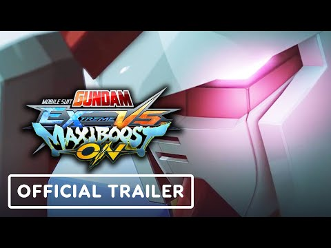 Mobile Suit Gundam Extreme VS. Maxiboost On - Official Announcement Trailer - UCKy1dAqELo0zrOtPkf0eTMw