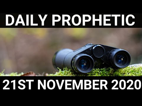 Daily Prophetic 21 November 2020 5 of 6