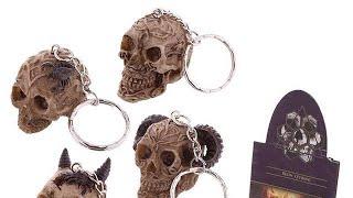 Yhon Soto Solutions - Novelty Gift Fantasy Celtic Skull Head Key Chain