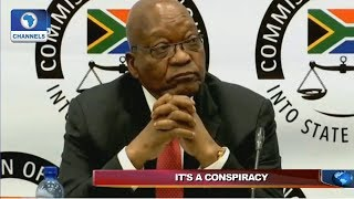 Fmr S/Africa President Decries 'Conspiracy' Against Him