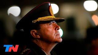 Milani, el exjefe del Ejército de Cristina Kirchner, en el banquillo por delitos de lesa humanidad