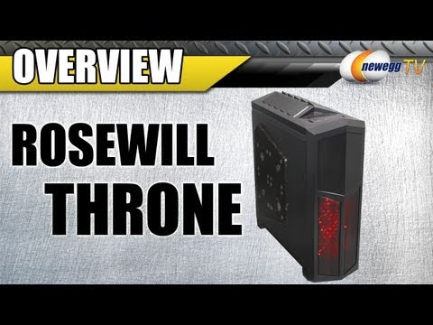 Rosewill Throne Full Tower Gaming Computer Case Overview - Newegg TV - UCJ1rSlahM7TYWGxEscL0g7Q