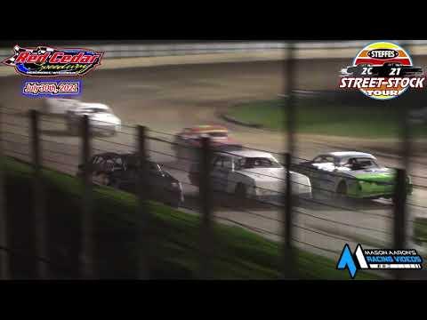 Red Cedar Speedway Steffes WISSOTA Street Stock B-Main (7/30/21) - dirt track racing video image