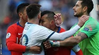 Ugly Encounter Between Argentina and Chile