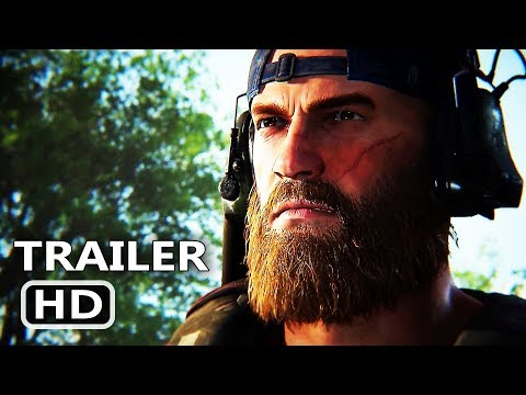 PS4 - Ghost Recon Breakpoint Gameplay Trailer (2019)