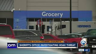 Okeechobee County deputies investigate hoax shooting complaint at Walmart
