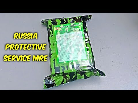 Tasting Russia Federal Protective Service MRE (Meal Ready to Eat) - UCe_vXdMrHHseZ_esYUskSBw