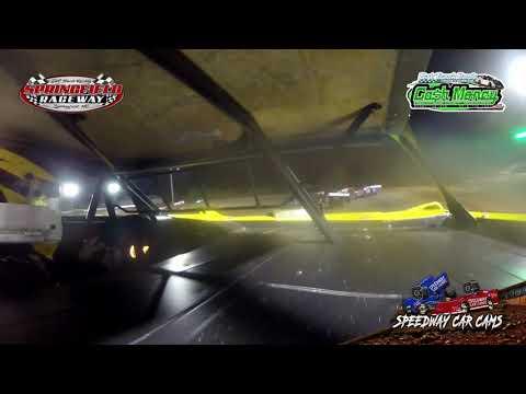 #21D Mark Daye - Cash Money Late Model - 10-3-2020 Springfield Raceway - In Car Camera - dirt track racing video image