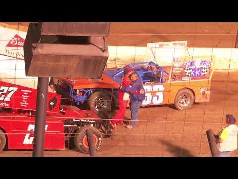 Perris Auto Speedway Night Of Destruction Figure 8 Main Event 7-3-21 - dirt track racing video image