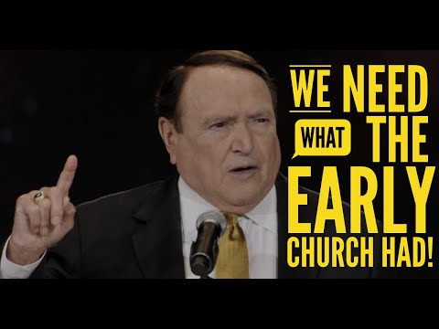 We Need What The Early Church Had!