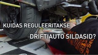 Kuidas reguleeritakse driftiauto sildasid?