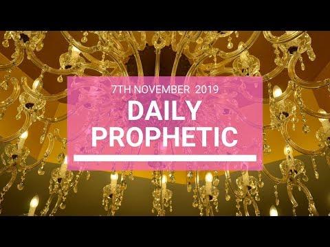 Daily Prophetic 7 November Word 5