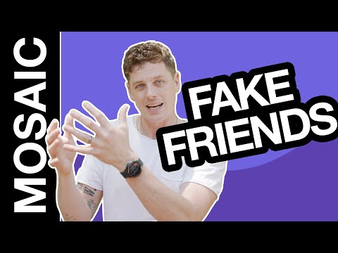 WHY DO SOME FRIENDS FEEL FAKE?  RELATIONSHIP GOALS
