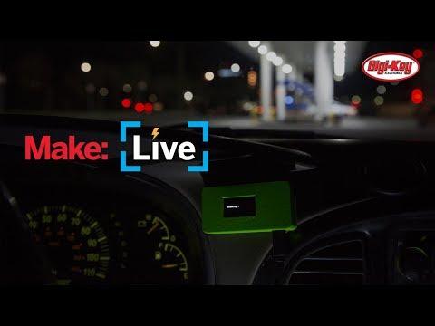 Make: Live - Raspberry Pi Skimmer Scanner - UChtY6O8Ahw2cz05PS2GhUbg