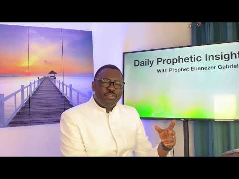Prophetic Insight  June 8th, 2021